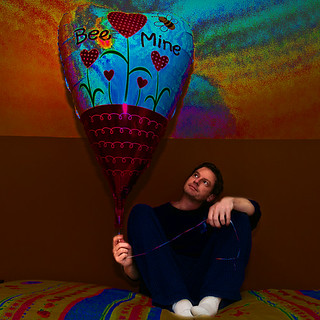 Me and my groovy balloon. | by rebelshootsfan