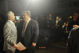 Rev. Al Sharpton and New Jersey Gov. Chris Christie | by Morning Joe show
