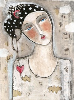 """HEART TO HEART"" (sold) 