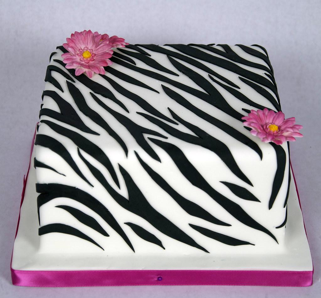 D7007 Designer Zebra Print Cake Toronto By Www Fortheloveofcake Ca
