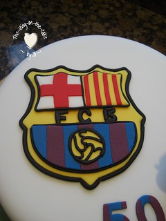 Barcelona FC cake 002 | by the-icing-on-the-cake. (Jo)