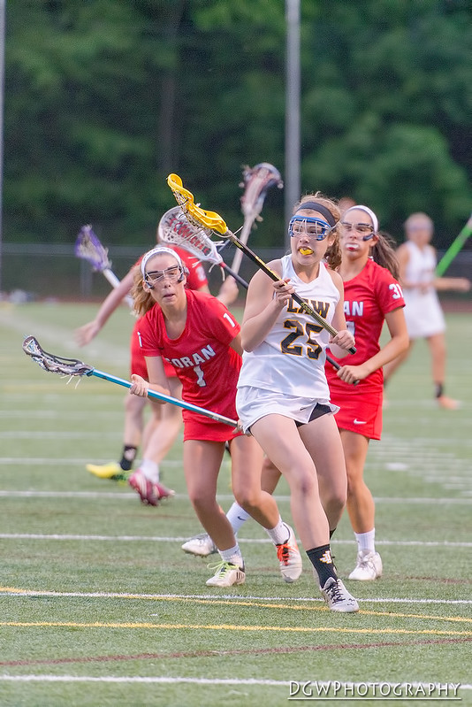 Foran High vs. Jonathan Law - Girls Lacrosse