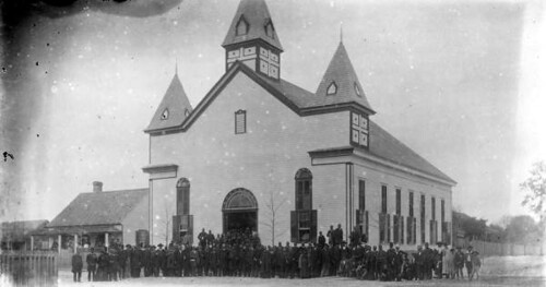 Congregation gathered at the Bethel A.M.E. church - Tallahassee, Florida | by State Library and Archives of Florida
