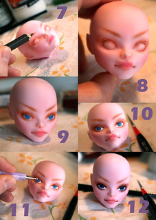 Monster High Repaint Tutorial Page 2 | by Axelspark