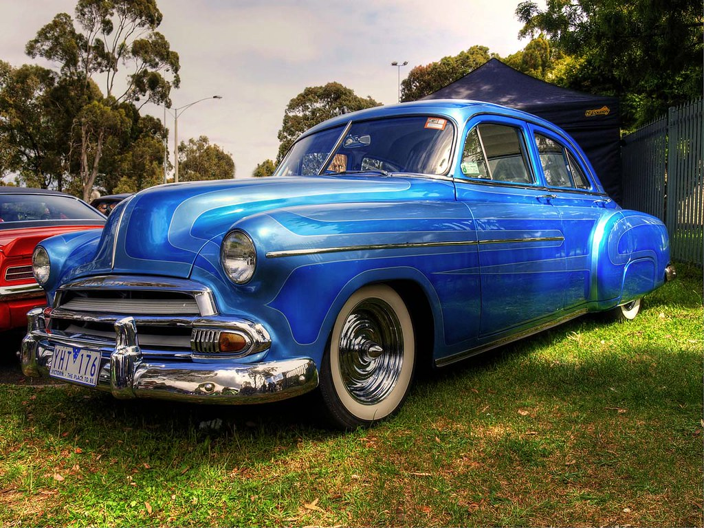 1951 Chevy Fleetline This 51 Has One Helluva Paint J 54 Chevrolet Colors By Ford Customline