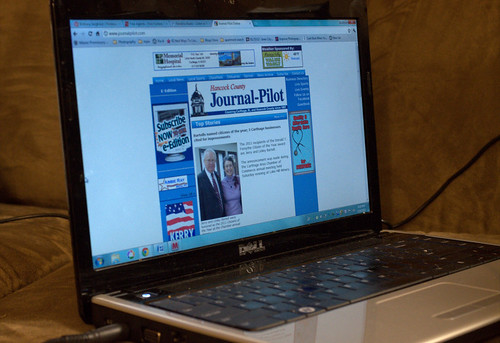Read Your Favorite Newspaper Online (112/365) | by trenttsd