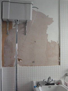 Bathroom paint peeled-off | by :: Wendy ::