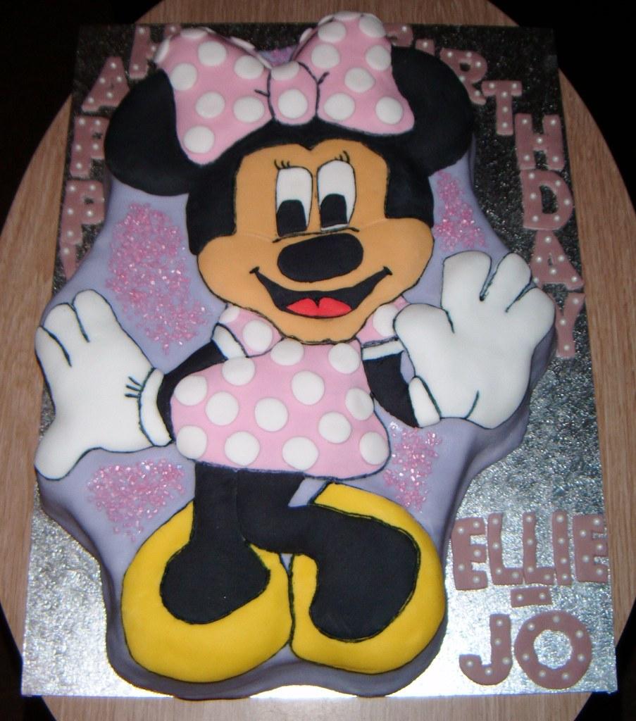 Wilton Shaped Minnie Mouse Birthday Cake Pan OH SO CAKES Louise