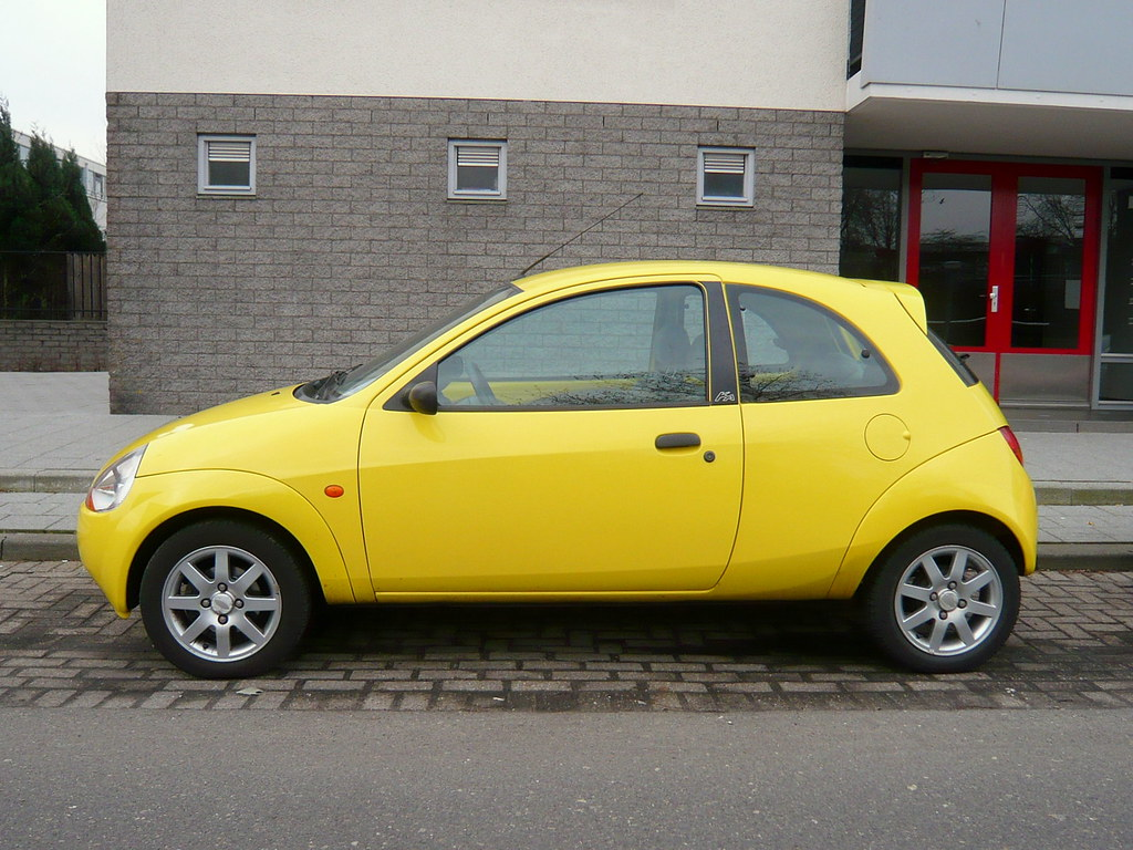 Yellow Ford Ka  By Oerendhard