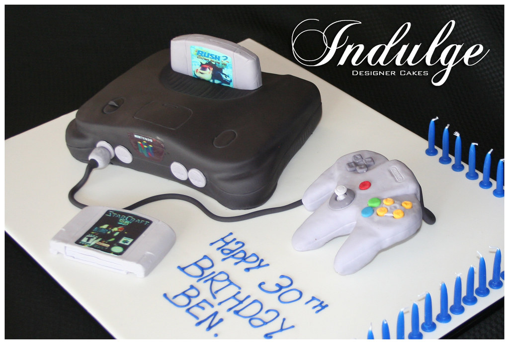Nintendo 64 Cake Bases On The Real Thing This Nintendo 64 Flickr