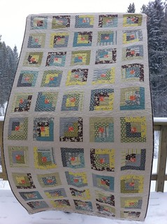 Hope Valley Log Cabin Quilt | by CoraQuilts~Carla
