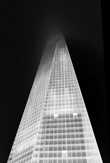 The Shard in black and white | by Semi-detached