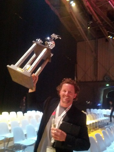 And the winner is @mathys #TNW2012 | by Arvid