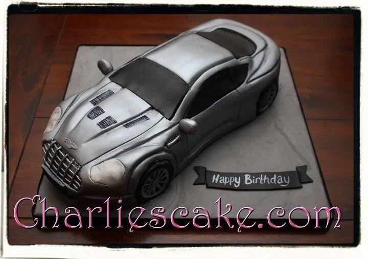 Aston Martin Cake Charlene Jacob Gray Flickr