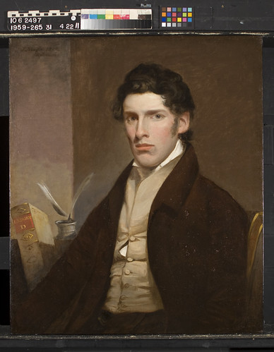 11. John Neagle, Portrait of William Scarlet, after treatment | by Shelburne Museum