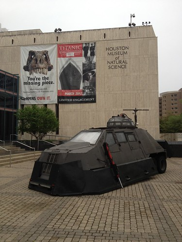 It's the Tornado Intercept Vehicle! | by Houston Museum of Natural Science
