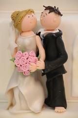 V Individuelle Tortenfiguren Brautpaar Mit Rosen Www Suess Flickr