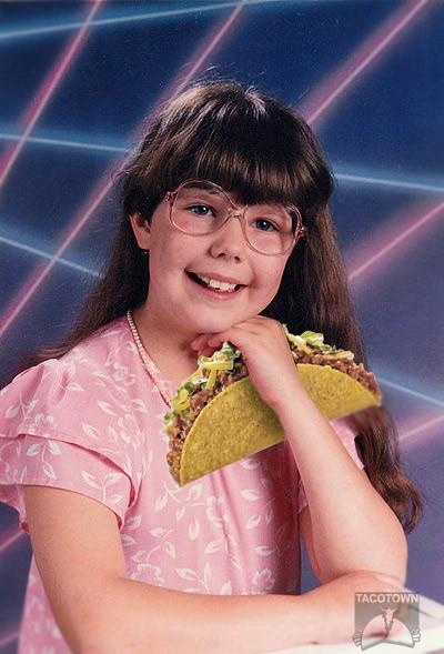 taco laser girl generaldibs flickr