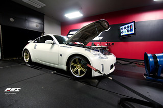 2004 Nissan 350Z on the dyno at PSI | by Kyle Tomita
