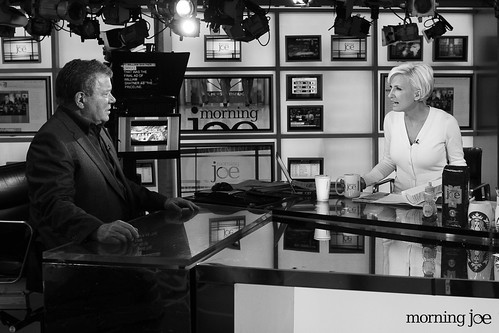 William Shatner talks with Mika Brzezinski | by Morning Joe show