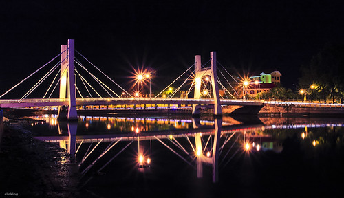 Le Hong Phong Bridge on the Ca Ty River, Phan Thiet, Vietnam | by -clicking-