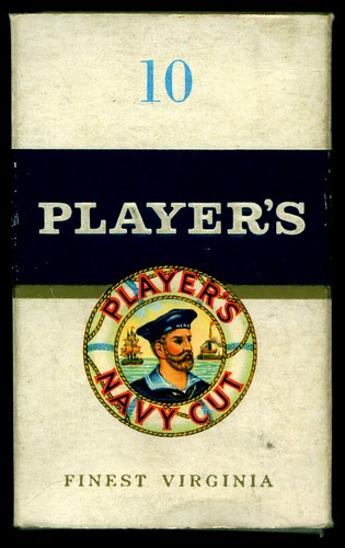 Cigarette Packet - Player's Navy Cut | by cigcardpix