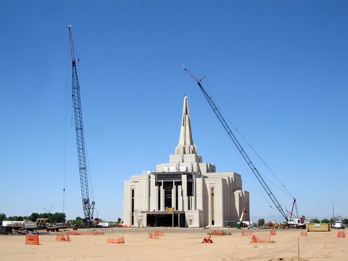 Gilbert Arizona Temple - Mormon Temple Under Construction | by jessicagreen0202