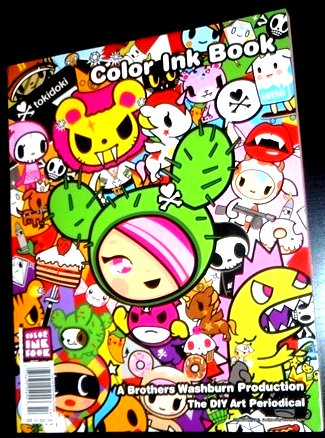 Tokidoki Color Ink Book | Really cool - many different artis… | Flickr