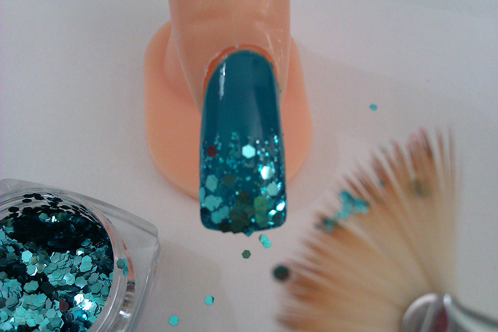 Simple And Easy Nail Art Designs Teal Nail Ideas For Begi Flickr