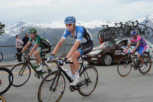 Ryder Hesjedal - Tour de Romandie, stage 4 | by Team Garmin-Sharp
