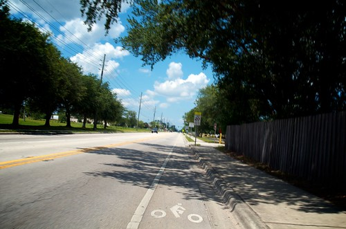 Florida Ride: One of two Bike Lanes | by Hugger Industries