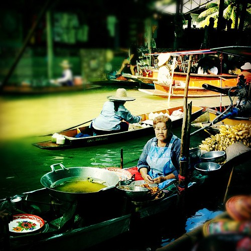 floating market | by Aki Jinn