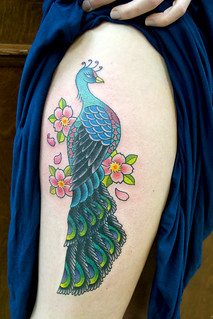 Peacock Tattoo | by Chris Hold