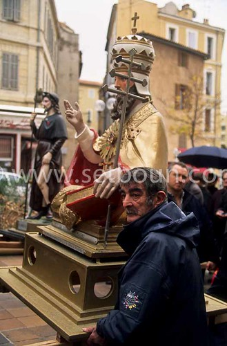 France marseille saint eloi saint roch procession fish for Chambre de commerce italienne marseille