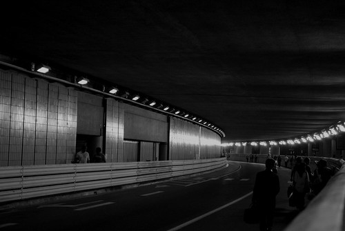 Walking through the Monaco tunnel | by zawtowers