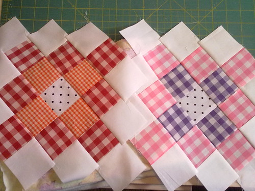 Gingham Granny Squares | by Making Ends Meet