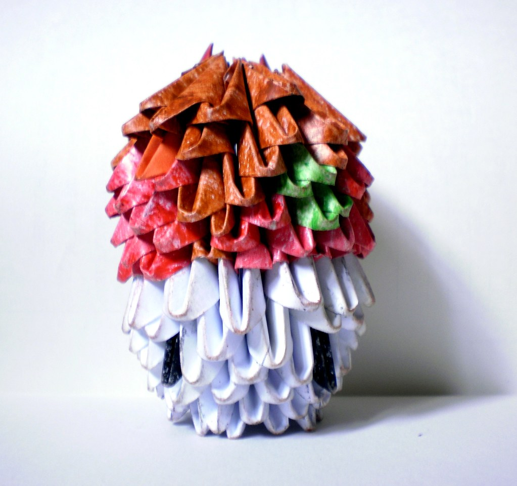 3d Origami Mario Mushroom 1 Olympus Digital Camera Flickr
