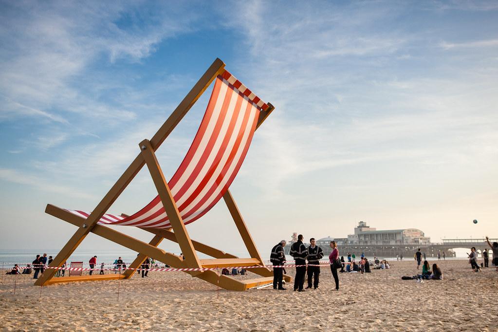 ... Giant Deckchair   By Mark J P
