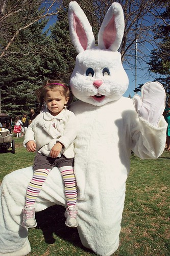 Hmm not sure about this giant bunny
