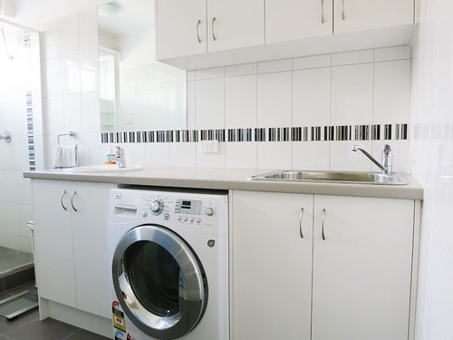 Renovated laundry at Mount Eliza unit for sale | by MountElizaUnit