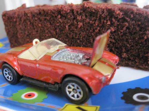 Chocolate Spider Cake Recipe