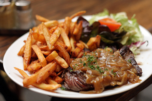 steak frites | by David Lebovitz