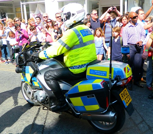 Met Police BMW R1200RT  Olympic Relay protection Group Bath RV12ZZD | by british fire rescue pics
