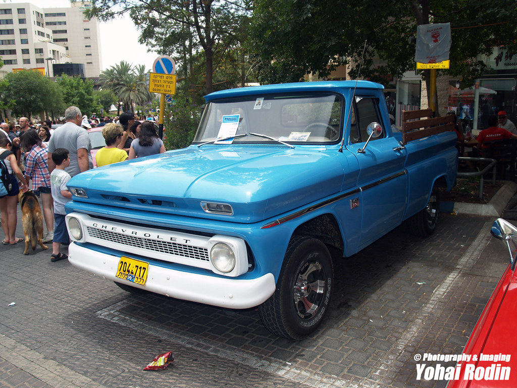 1966 Chevrolet C10 Pick Up Yohai Rodin Flickr By