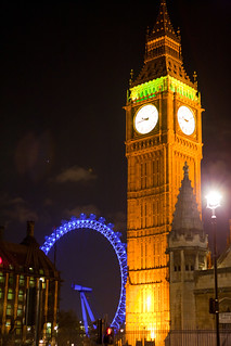 Big Ben + London Eye | by Raphael Koerich