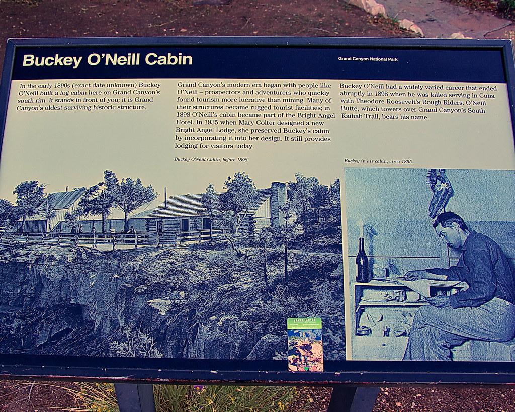 ... Buckey Ou0027Neill Cabin Sign   Grand Canyon   South Rim | By Al_HikesAZ