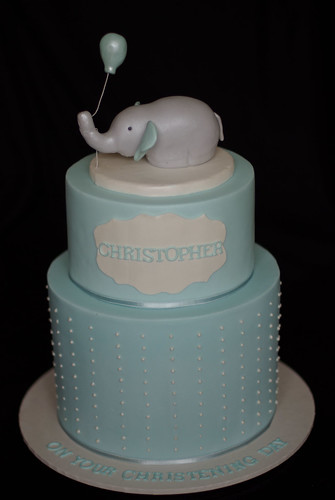 Christening Cake Toppers Girl On Wire