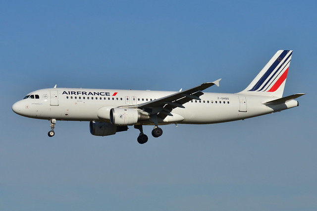Airbus A320-200 Air France (AFR) F-GHQO - MSN 278