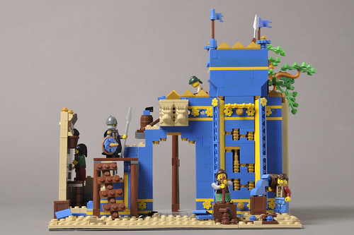 Building Ishtar gate 3 | by Fritziix