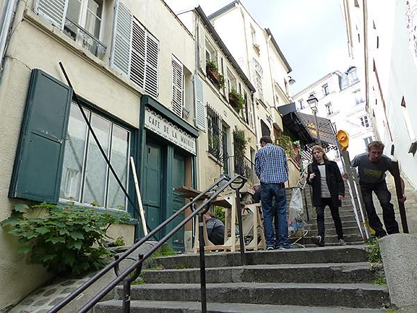 ecaliers d ela rue Antoine